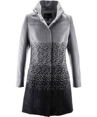 bpc selection Manteau imitation laine gris manches longues femme - bonprix