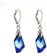 Bijoux Me Náušnice Swarovski Elements De-Art 713akt6670-18-30ab - modré e544d0934a8