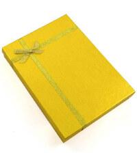 Dárková krabička velká kv13 - zlatá