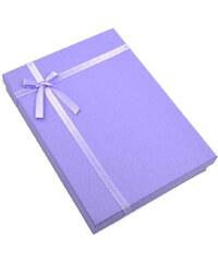 Dárková krabička velká kv35 - bledě fialová