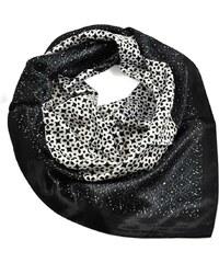 Velký šátek 63sv009-03 - černobílý