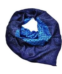 Velký šátek 63sv009-30 - modrý
