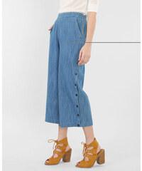 Jupe culotte denim bleu ciel, Femme, Taille 36 -PIMKIE- MODE FEMME
