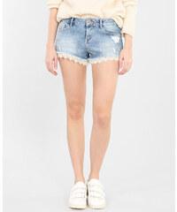 Pimkie Mini-Shorts aus Denim und Spitze