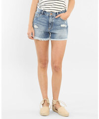 Pimkie Ausgefranste Shorts mit hoher Taille