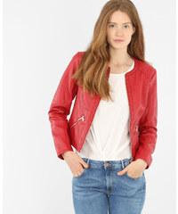 Pimkie Jacke aus Kunstleder ohne Kragen