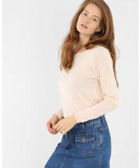 Pull basique léger rose pâle, Femme, Taille L -PIMKIE- MODE FEMME