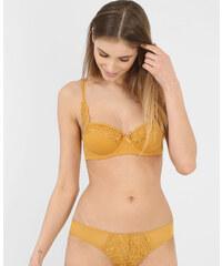 Soutien-gorge balconnet moutarde, Femme, Taille 85C -PIMKIE- MODE FEMME