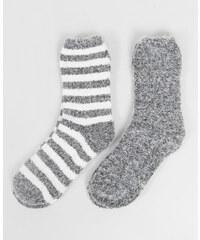Lot de chaussettes épaisses gris, Femme, Taille 00 -PIMKIE- MODE FEMME