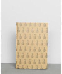 Grand Carnet - print ananas - couleur beige - PIMKIE, Décoration d'intérieur