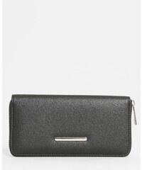 Portefeuille zippé noir, Femme, Taille 00 -PIMKIE- MODE FEMME