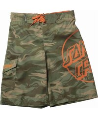 kraťasy SANTA CRUZ - YOUTH CAMO DOT BOARDIE CAMO (CAMO)