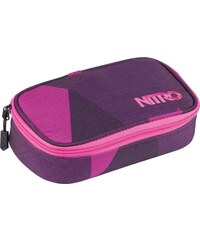 penál NITRO - Pencil Case Xl Fragments Purple (009)