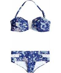 plavky ROXY - Bandeau/Shorty Paisley Song Combo Sailor Blue (BSQ6)