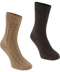 Ponožky Karrimor Wool 2 Pack pán.