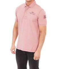 Napapijri Pánské polo tričko N0Y9AX-P51_Pale pink