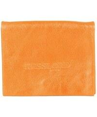Kesslord Kart K'rock - Porte-cartes en Cuir de vachette torsadé - orange