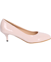 Lesara Kitten Heel-Pumps - Beige - 35