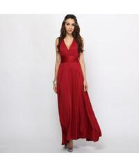 Lesara Ärmelloses Abendkleid - Rot - S
