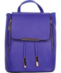 Lesara Rucksack mit silberfarbenen Details - Blau