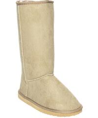 The Boot Australia Dámské válenky 1117-Beige