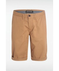 Bermuda homme chino Beige Elasthanne - Homme Taille 34 - Bonobo