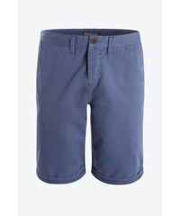 Bermuda homme chino Bleu Elasthanne - Homme Taille 34 - Bonobo