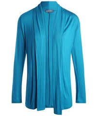 Cardigan Bleu Elasthanne - Femme Taille 0 - Cache Cache