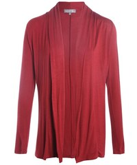 Cardigan Rouge Elasthanne - Femme Taille 0 - Cache Cache