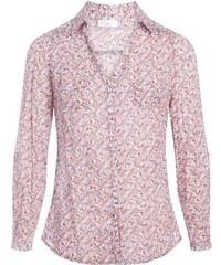 Chemise manches longues imprimée Beige Coton - Femme Taille 1 - Cache Cache