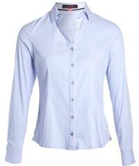 Chemise manches longues rayée Bleu Coton - Femme Taille 0 - Cache Cache
