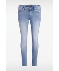 Jeans femme skinny SEBBA Bleu Cuir de vachette - Femme Taille 34 - Bonobo