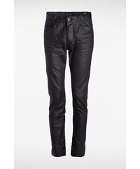 Jeans homme straight SOCHI enduit L32 Noir Coton - Homme Taille 34 - Bonobo