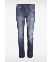 Jeans homme straight SOCHI L32 Bleu Cuir de vachette - Homme Taille 34 - Bonobo
