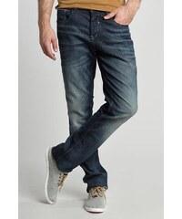 Jeans homme straight SOCHI technical Bleu Croute de cuir de vachette - Homme Taille 34 - Bonobo