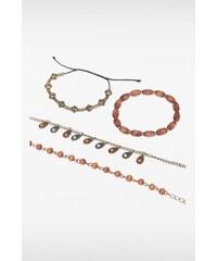 Bracelets fantaisie perles et métal Métal Metal - Femme Taille TU - Bonobo
