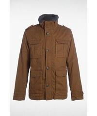 Parka homme courte poches Instinct Marron Coton - Homme Taille L - Bonobo