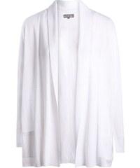 Gilet col châle manches longues Beige Coton - Femme Taille 0 - Cache Cache