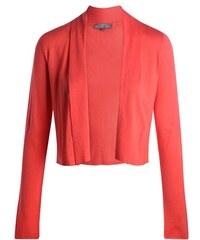 Gilet court col châle uni Rose Coton - Femme Taille 0 - Cache Cache