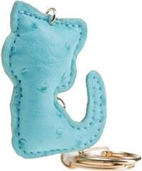 Porte-clé forme lapin avec pompon Vert Metal - Femme Taille T.U - Cache Cache