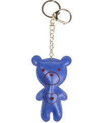 Porte-clé forme ours motif coeur Bleu Metal - Femme Taille T.U - Cache Cache