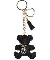 Porte-clé teddy léopard collier Noir Metal - Femme Taille T.U - Cache Cache