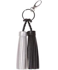 Porte-clés pompons bicolores Noir Metal - Femme Taille T.U - Cache Cache