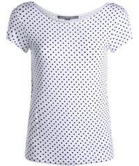 T-shirt réversible dos échancré Blanc Viscose - Femme Taille 1 - Cache Cache