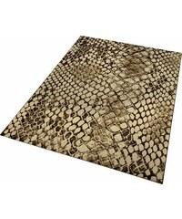 WECON HOME Teppich Wecon Home Snake Schlangen-Optik natur 2 (B/L: 80x150 cm),3 (B/L: 120x170 cm),31 (B/L: 133x200 cm),4 (B/L: 160x225 cm),6 (B/L: 200x290 cm)