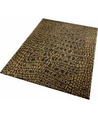 Teppich Wecon Home Croco WECON HOME braun 2 (B/L: 80x150 cm),3 (B/L: 120x170 cm),31 (B/L: 133x200 cm),4 (B/L: 160x225 cm),6 (B/L: 200x290 cm)