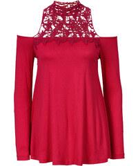 BODYFLIRT boutique Top rouge femme - bonprix
