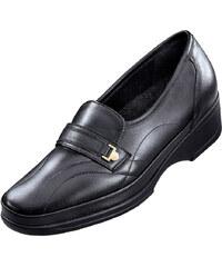Slipper obuv Waldläufer černá