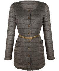 Tričkový kabátek AMY VERMONT khaki