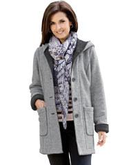 Krátký kabát MONA sv.šedá